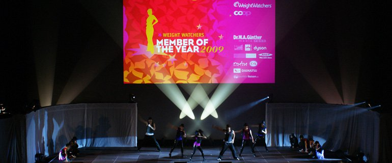 Event Member Of The Year Weight Watchers YOUNG TALENTS COMPANY and Choreography by joyofdance.ch