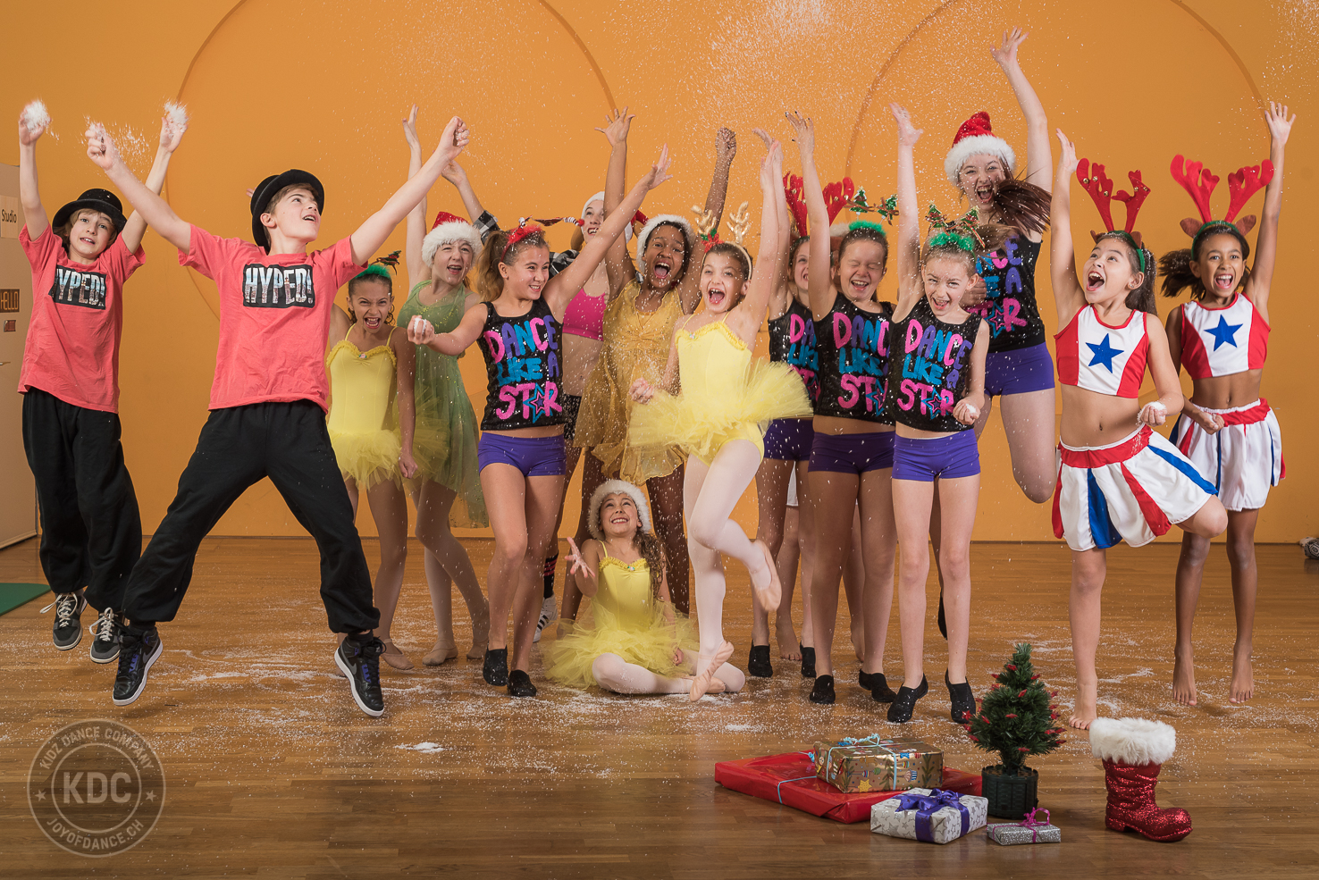 Merry Christmas from KDC by joyofdance.ch